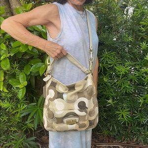 Coach Optic Art Hobo Bag